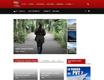 jeparsaucanada.com screenshot