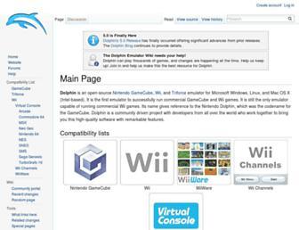 wiki.dolphin-emu.org screenshot