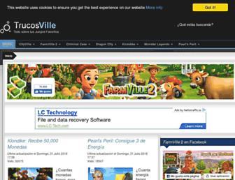 trucosville.net screenshot