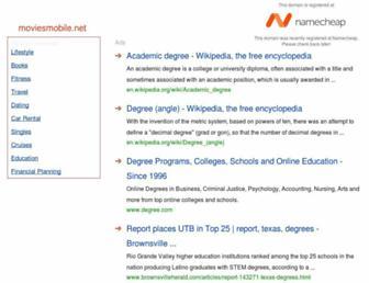 Thumbshot of Moviesmobile.net