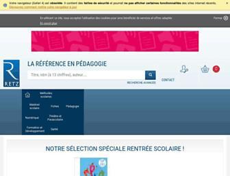 Thumbshot of Editions-retz.com