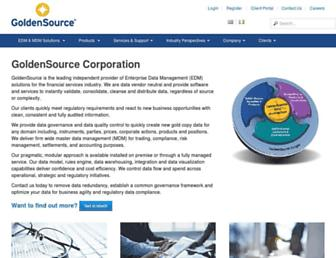 thegoldensource.com screenshot