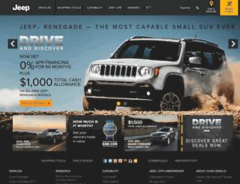 jeep.com screenshot