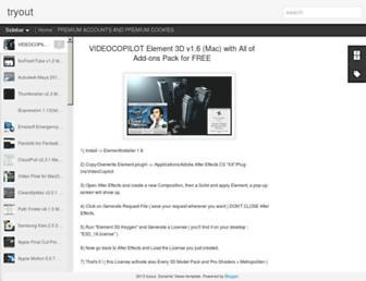 tryoutsomething.blogspot.com screenshot