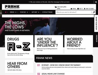 Thumbshot of Talktofrank.com