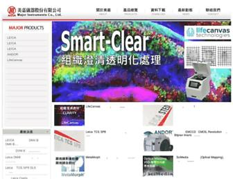major.com.tw screenshot