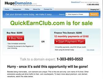 Thumbshot of Quickearnclub.com