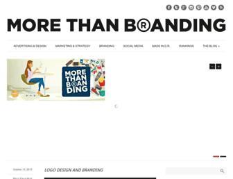 morethanbranding.com screenshot