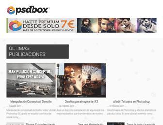 psdbox.es screenshot