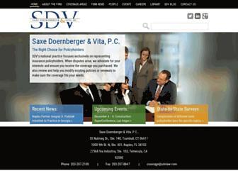 sdvlaw.com screenshot