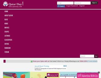 Thumbshot of Qatarday.com