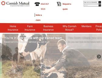 cornishmutual.co.uk screenshot