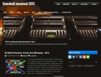 dancehalljamz.blogspot.com screenshot