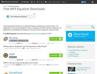 free-mp3-equalizer.en.informer.com screenshot