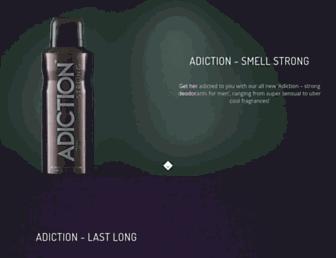 adiction.in screenshot