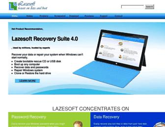lazesoft.com screenshot