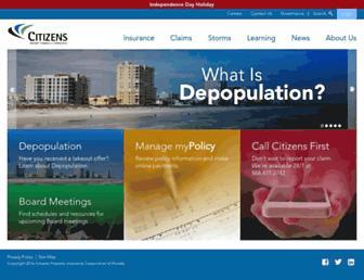 citizensfla.com screenshot