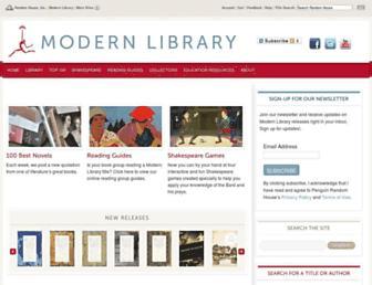 modernlibrary.com screenshot