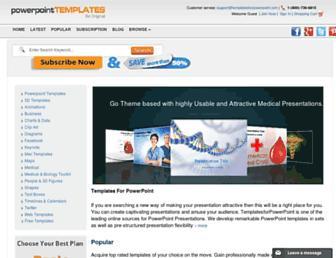 templatesforpowerpoint.com screenshot