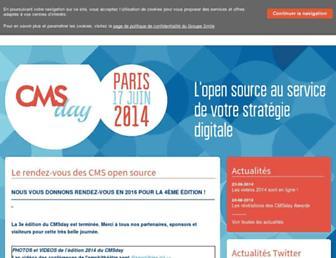 Thumbshot of Cmsday.fr