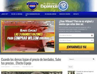 laacademiadelbordadoindustrial.com screenshot
