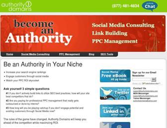 Thumbshot of Authoritydomains.com