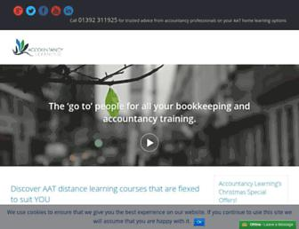 accountancylearning.co.uk screenshot
