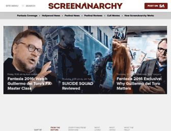 screenanarchy.com screenshot