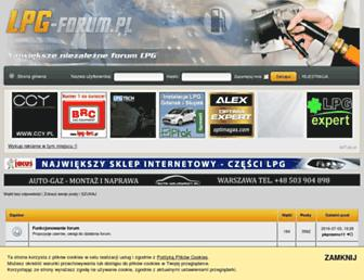 lpg-forum.pl screenshot