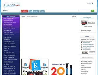 kimya.uzerine.com screenshot