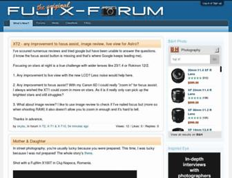 fujix-forum.com screenshot