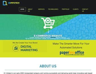 diinfotech.com screenshot