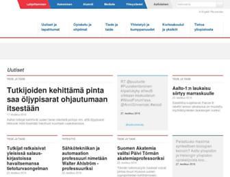 tkk.fi screenshot