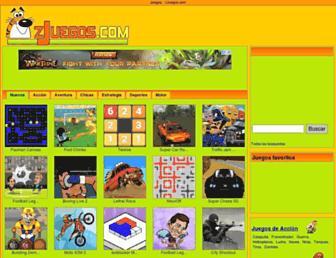 zjuegos.com screenshot