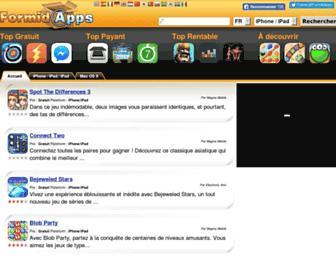 fr.formidapps.com screenshot