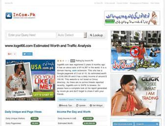 togel66.com.incom.pk screenshot
