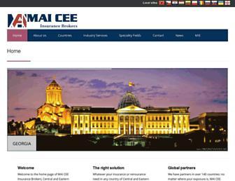 mai-cee.com screenshot