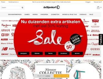 Thumbshot of Bijenkorf.nl