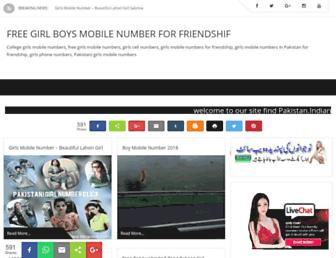 girlsmobilenumberspakistan.blogspot.com screenshot