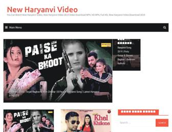newharyanvivideo.com screenshot