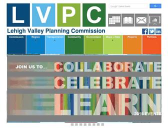 Main page screenshot of lvpc.org