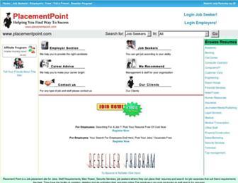 placementpoint.com screenshot
