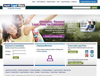 Thumbshot of Legalplans.com