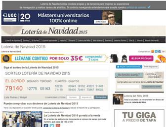 Thumbshot of Laloterianavidad.com