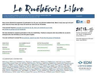 quebecoislibre.org screenshot