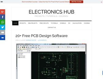 electronicshub.org screenshot