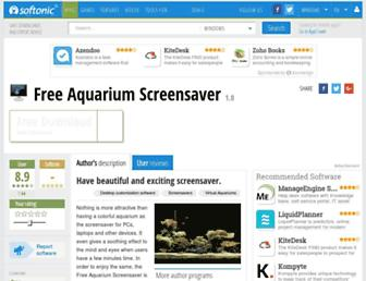 free-aquarium-screensaver.en.softonic.com screenshot