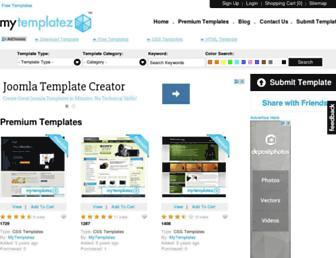 Thumbshot of Mytemplatez.com