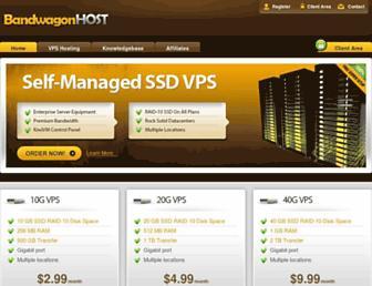 Thumbshot of Bandwagonhost.com