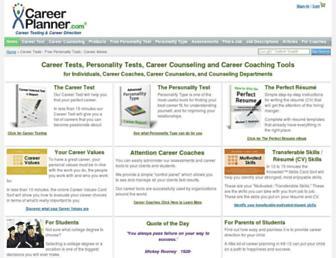 Thumbshot of Careerplanner.com